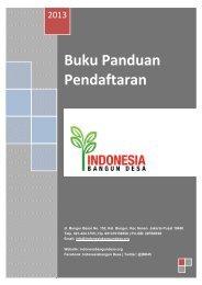 Buku Panduan Pendaftaran