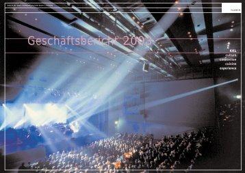 Geschäftsbericht 2003 - Kultur- und Kongresszentrum Luzern
