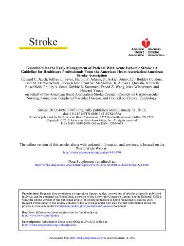 stroke clinical practice guidelines philippines