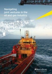 Navigating joint ventures in the oil and gas industry