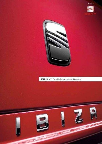 SEAT Ibiza ST Zubehör | Accessoires | Accessori - J.H. Keller AG