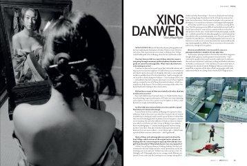 Artist Profile, issue 7, April, 2009, Australia - Xing Danwen