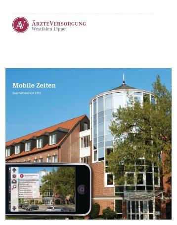 Mobile Zeiten - Ärzteversorgung Westfalen-Lippe