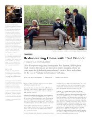 Rediscovering China with Paul Bennett - Ideo