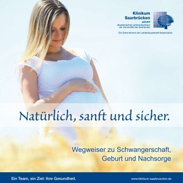 Wegweiser zu Schwangerschaft, Geburt und Nachsorge - Klinikum ...