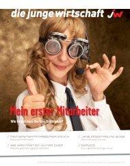 Ausgabe vom Dezember 2009 - Junge Wirtschaft Österreich