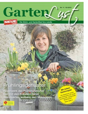 Gartenlust Ausgabe März 2013