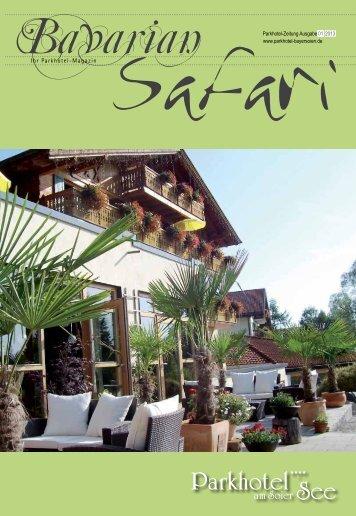 Bavarian Safari - Parkhotel Hauszeitung 1/13