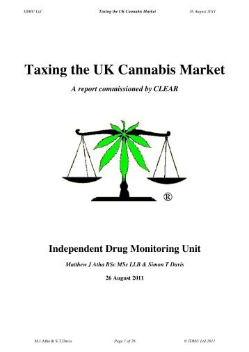 Taxing the UK Cannabis Market