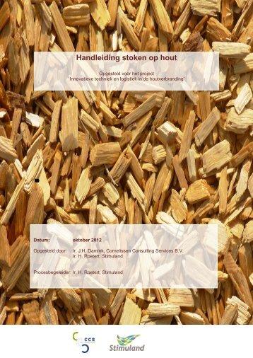 Handleiding stoken op hout
