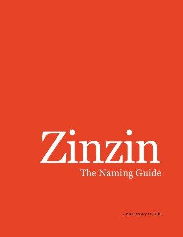 zinzin-naming-guide