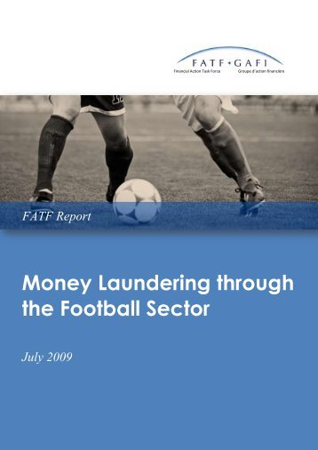 Money Laundering through the Football Sector