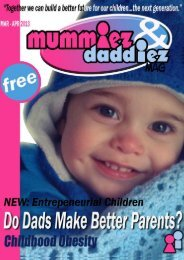 mummiez & daddiez magazine March/April