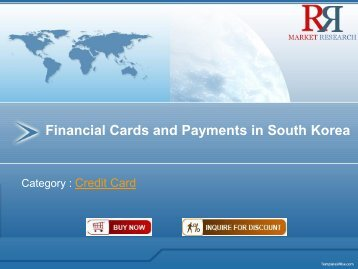 Financial Cards and Payments in South Korea