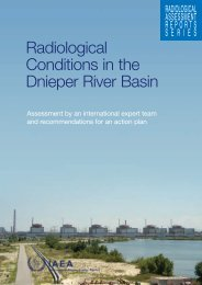 Radiological Conditions in the Dnieper River Basin