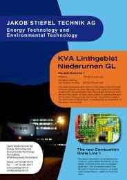 Technical data - Jakob Stiefel Gmbh Energie- und Umwelttechnik