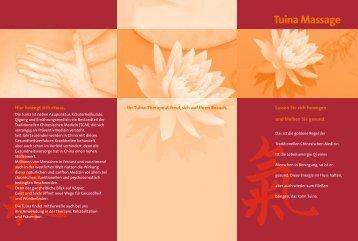 Tuina Massage - Shen Men Institut
