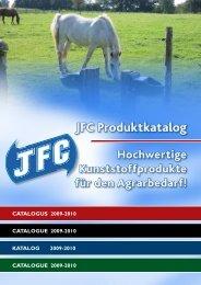 Quality plastics! JFC Produktkatalog - horsetech