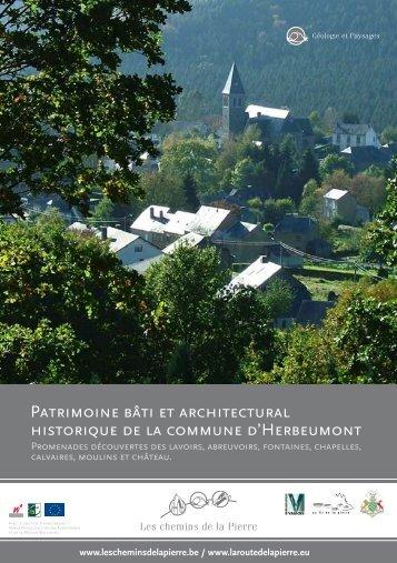 PATRImOInE BâTI ET ARCHITECTURAL HIsTORIQUE DE LA ...
