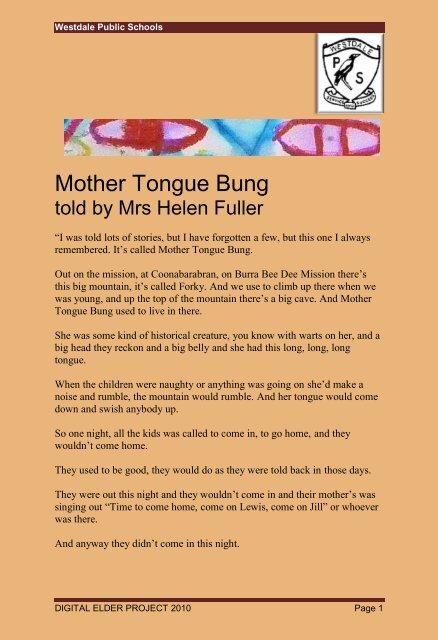 Mother Tongue Bung Transcript Digital Elder Project