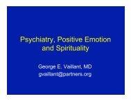 Conference Powerpoint Presentation - A Celebration of Spirit
