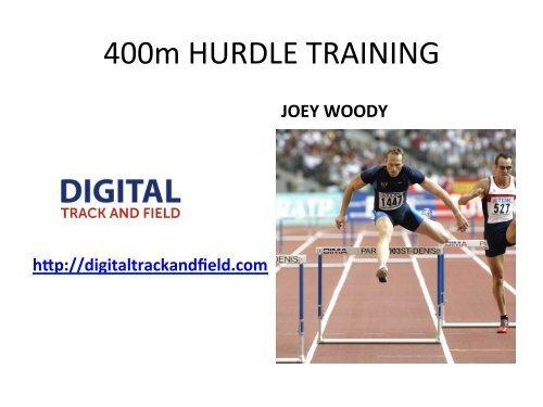 400m HURDLE TRAINING - Digital Track and Field