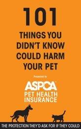 101 Guide_ASPCA_10-07.indd - ASPCA Pet Insurance