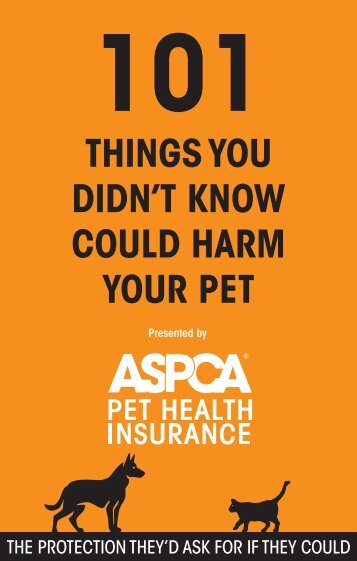 101 Guide_ASPCA_10-07.indd - ASPCA Pet Insurance