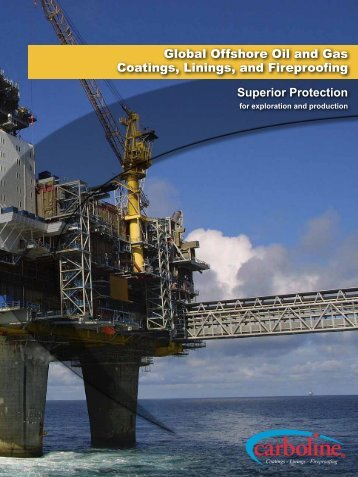 Offshore Oil & Gas Brochure - Carboline