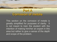 Defining Corrosion - Pacific Southwest Supply