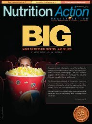 Movie Theaters Fill Buckets...and Bellies - Center for Science in the ...