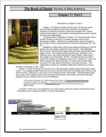 Daniel Chapter 11 Part 2 - Truthnet