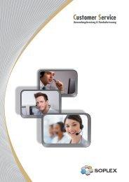 Customer Service - Soplex Consult GmbH
