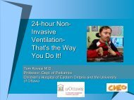 24-hour Non- Invasive Ventilation - Canadian Lung Association