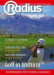 Radius Golf 2010