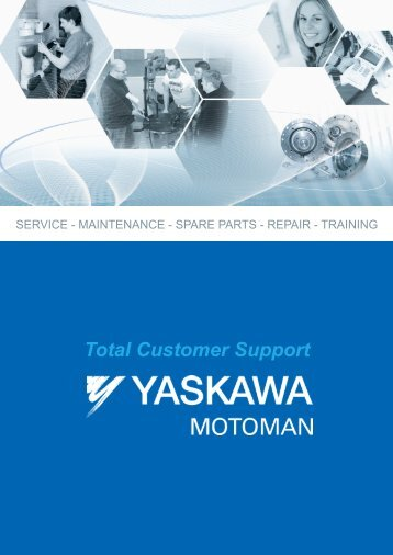 Total Customer Support - Motoman Robotics