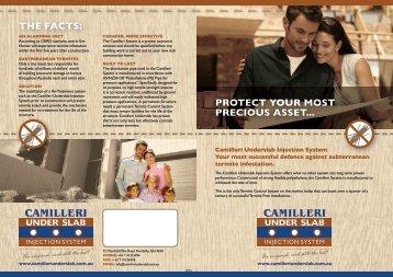 Download a brochure - Camilleri