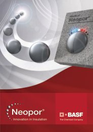 Neopor (PSE) – Un matériau isolant d'avenir - Principes Physiques ...