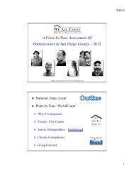 2012 PPT Summary - Regional Task Force on the Homeless