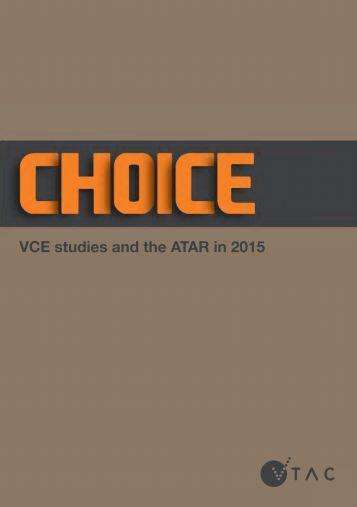 Choice - VTAC