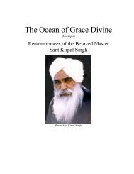 The Ocean of Grace Divine (Excerpts) - Spiritual Quotations for ...