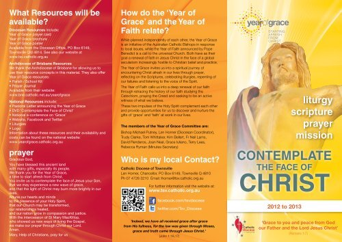 'Year of Grace'? - Catholic Diocese of Townsville
