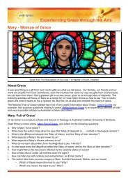 Mary - Woman of Grace - Catholic Archdiocese of Brisbane
