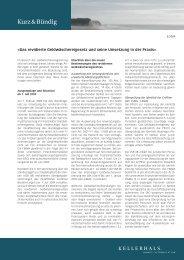 PDF herunterladen - Kellerhals Anwälte