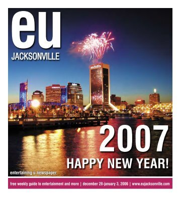 happy new year! - EU Jacksonville