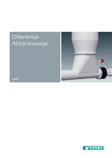 Differential- Absackwaage.