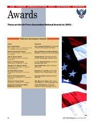1101awards - Air Force Magazine