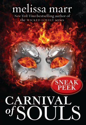 ChaPter 2 - Carnival of Souls by Melissa Marr