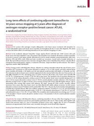 Articles Long-term effects of continuing adjuvant ... - The Lancet