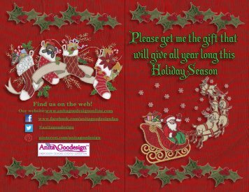 Please get me the gift that will give all year long ... - Anita Goodesign